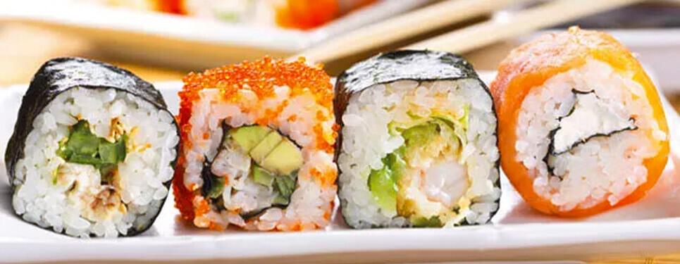 sushi para tapas