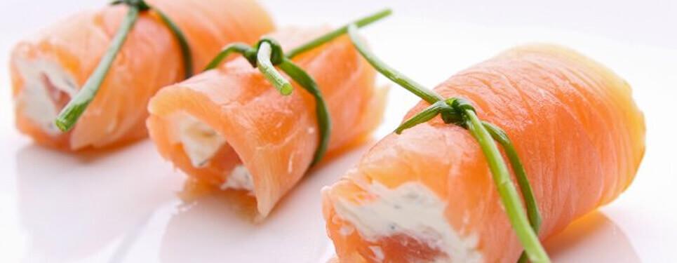 tapa de salmón con philadelphia