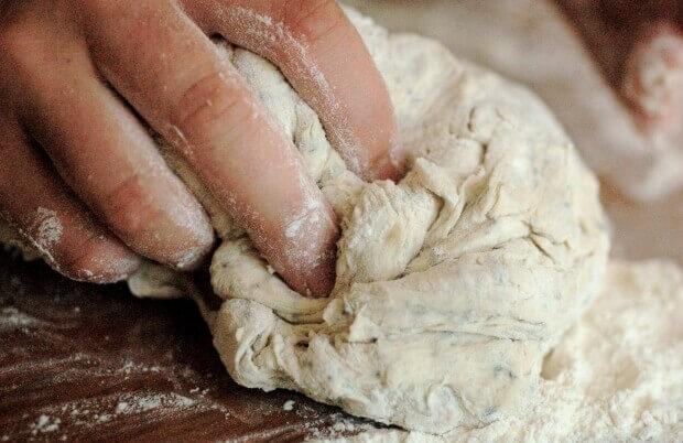 amasado pan casero