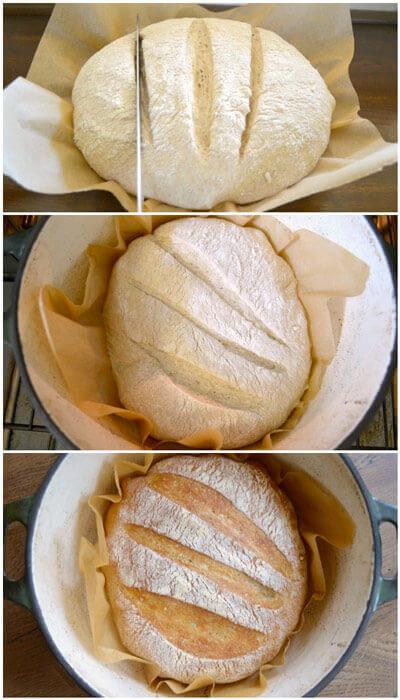 cortes pan casero