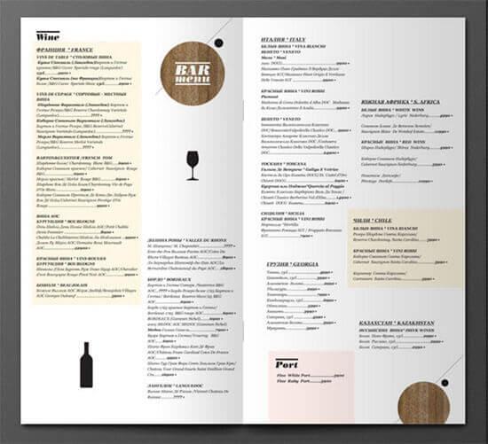 carta restaurante 40