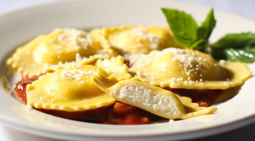 raviolis de queso kitchenAid