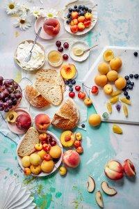 fotografia gastronómica ángulo cenital