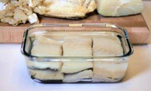 desalar bacalao Ensalada de escarola con bacalao, naranja y vinagre de jerez