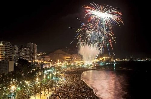 fuegos artificiales