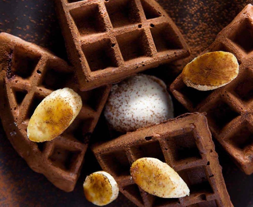 cómo hacer gofres receta