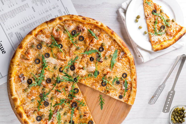 receta pizza kitchenaid