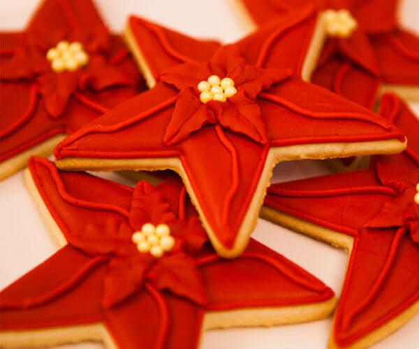 decorar galletas de navidad con fondant