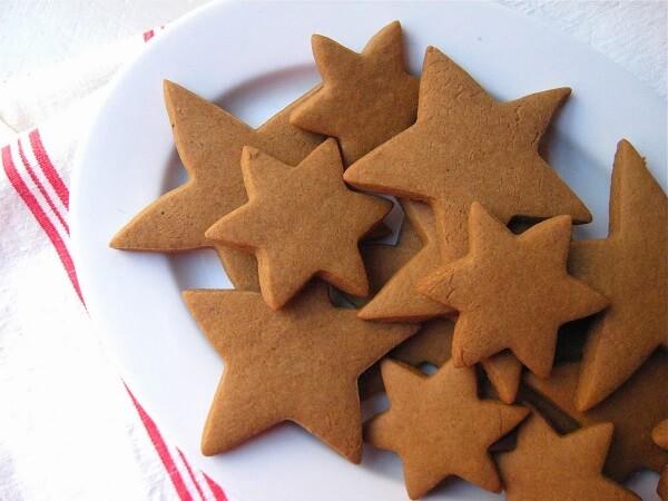 galletas con forma de estrella
