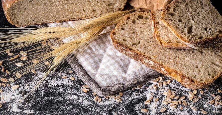 Ingredientes pan de espelta