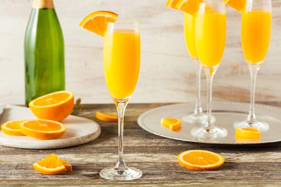 coctel mimosa