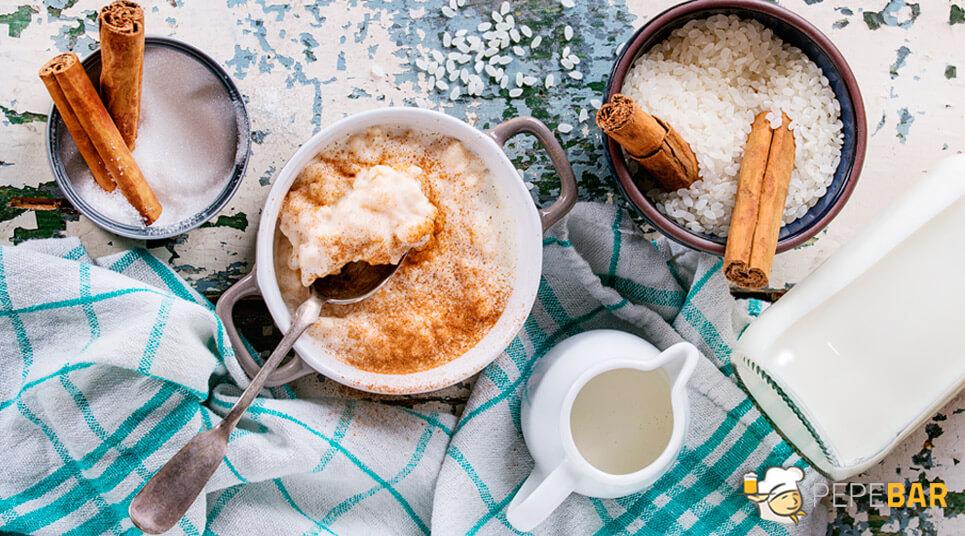 arroz con leche acil y cremoso