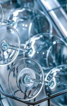 Vajilla cristal lavavajillas industriales