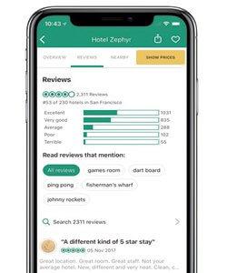 Aplicaciones para restaurantes; TripAdvisor