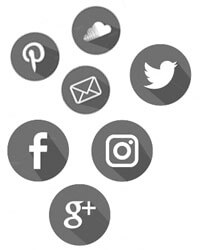 Botones redes sociales
