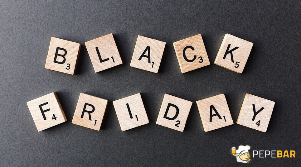 black friday para bares y restaurantes