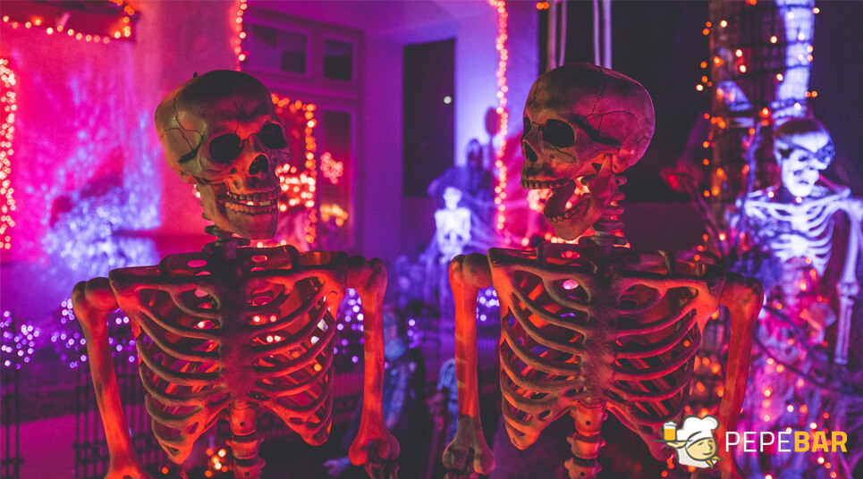 ideas halloween para bares y restaurantes