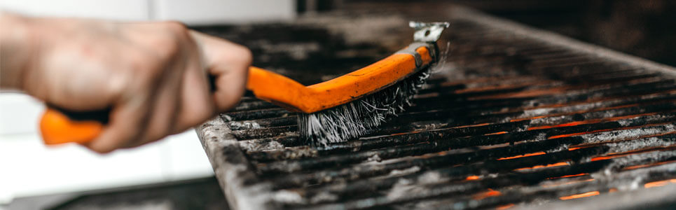 Mantenimiento horno de brasa para restaurante