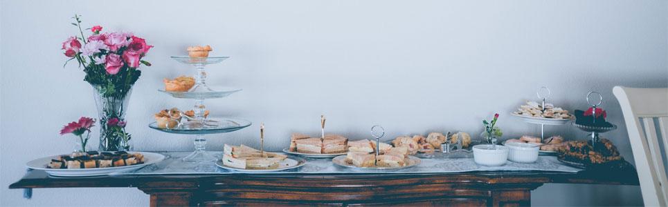 Decoración buffet