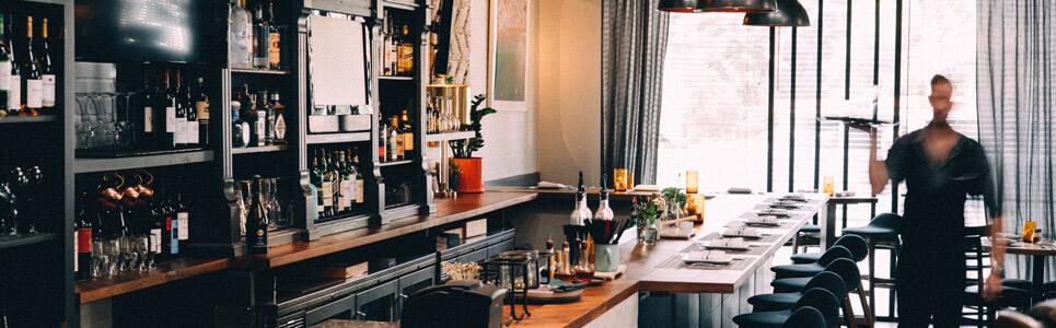 Equipación básica para cocina de bar
