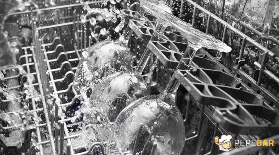 Limpieza de lavavajillas