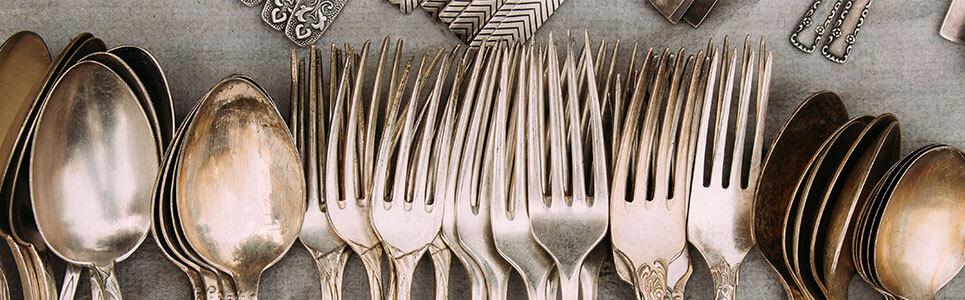 Limpieza y mantenimiento cuberteria de restaurante