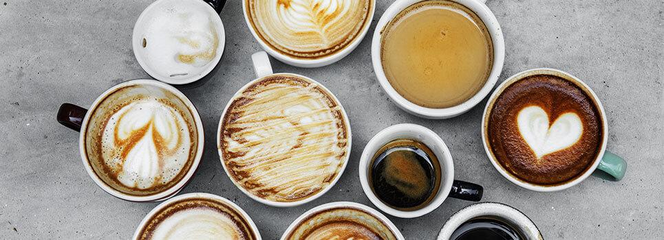 Tipos de café: bebidas
