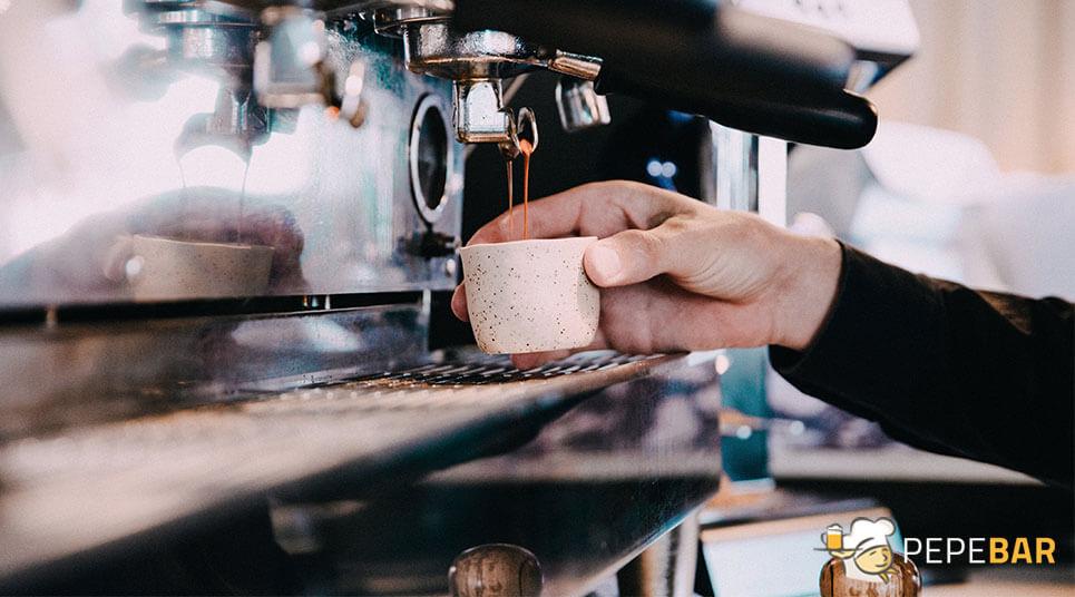 Tipos de café en hostelería