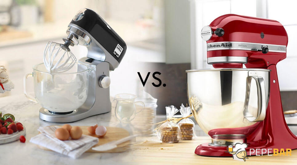 kenwood-vs-kitchenaidKitchenaid vs Kenwood amasadoras