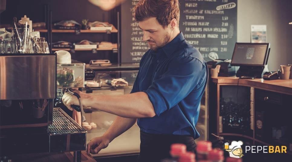 maquinaria necesaria para abrir una cafetería