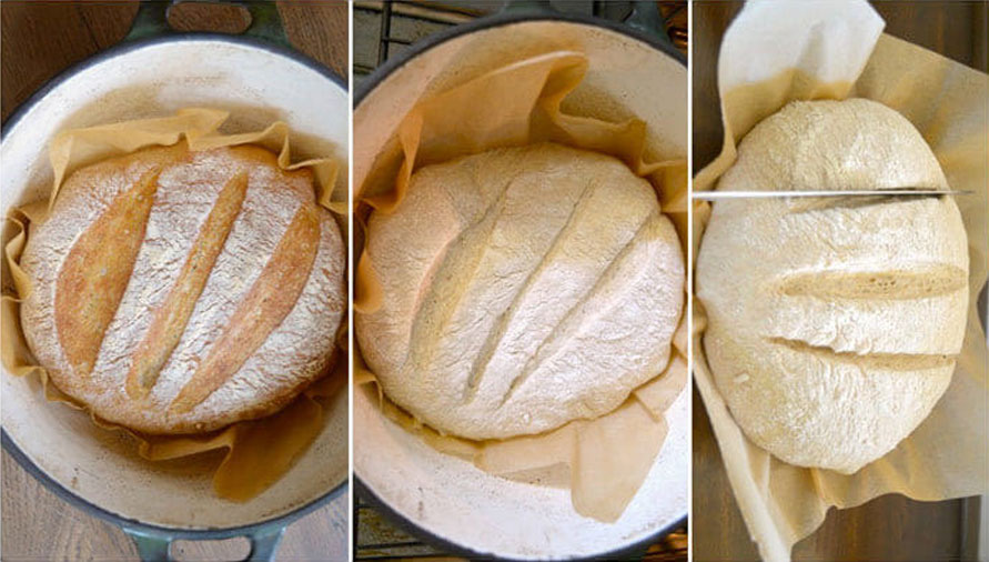 types of cut to make homemade bread