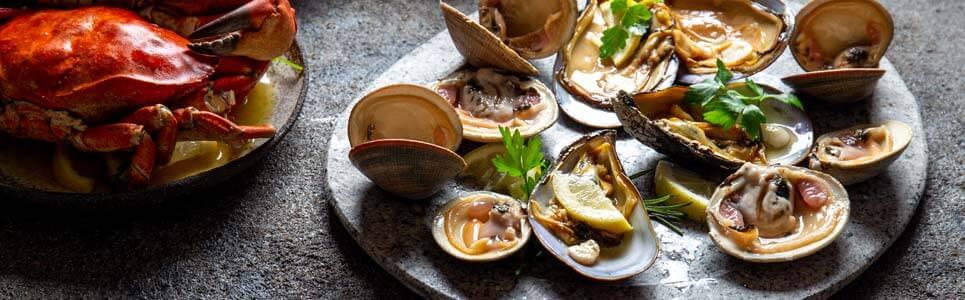 mariscos gallegos delicias