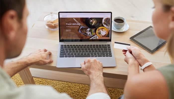 servicio a domicilio comida para llevar